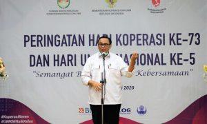 Sekretaris Kementerian Koperasi dan UKM Prof Rully Indrawan